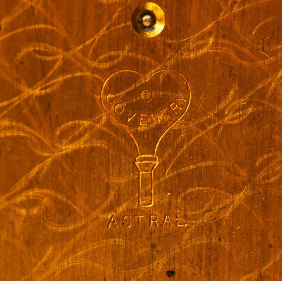 Charles II style brass lantern clock - 5