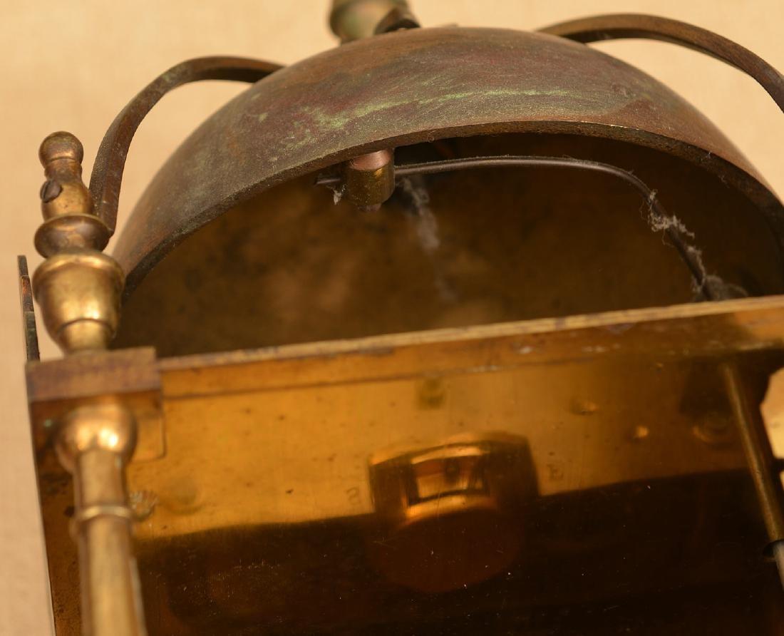 Charles II style brass lantern clock - 6