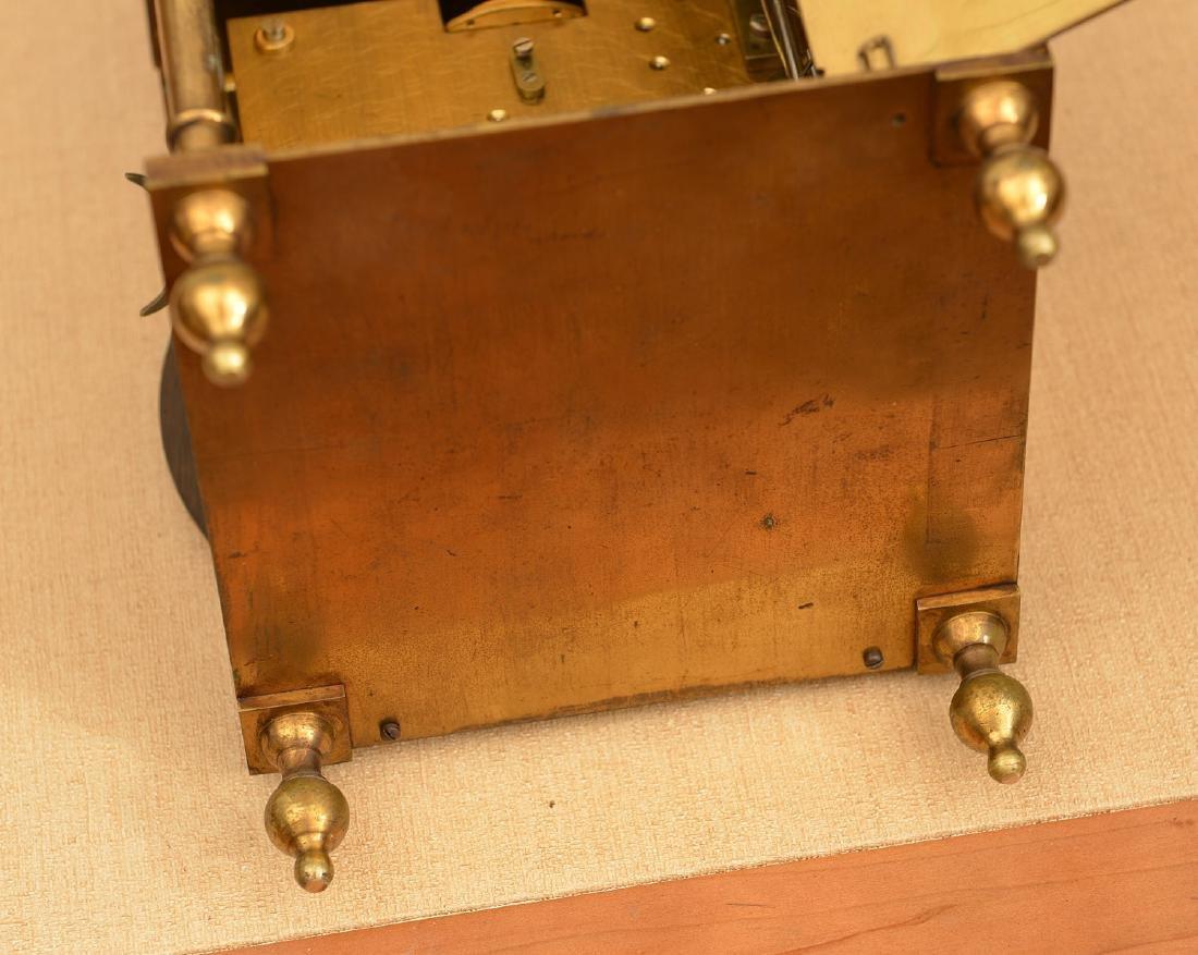 Charles II style brass lantern clock - 7