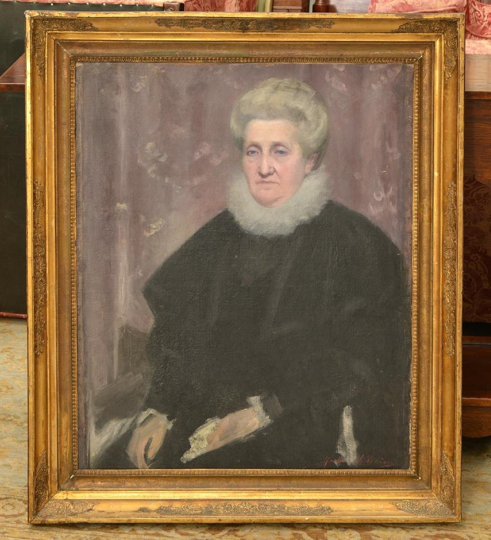 Marie Villedieu, painting