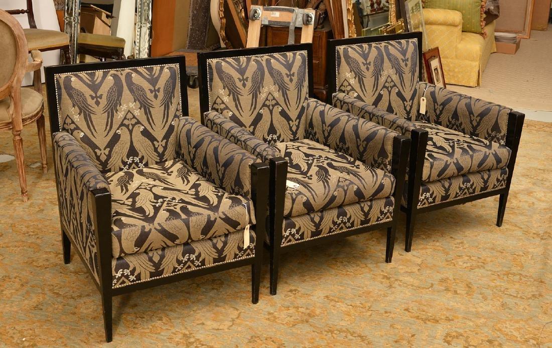 Van Cleef & Arpels, (3) French Deco style bergeres