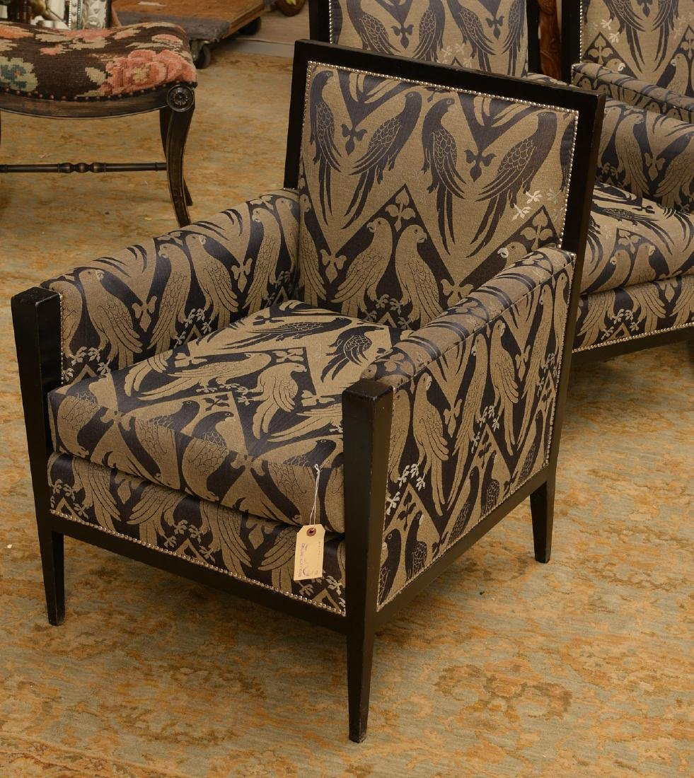 Van Cleef & Arpels, (3) French Deco style bergeres - 2