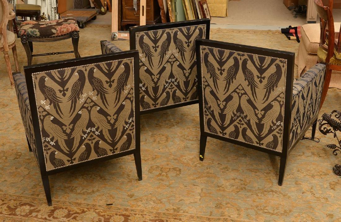 Van Cleef & Arpels, (3) French Deco style bergeres - 3