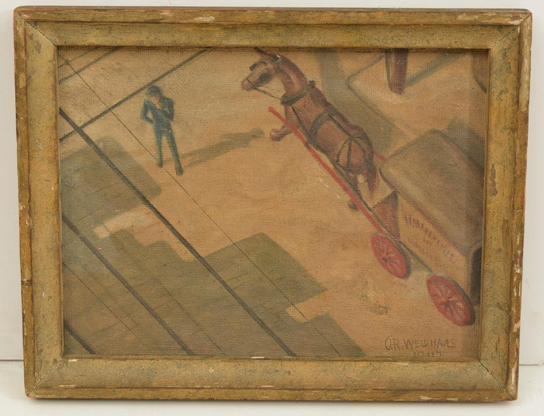 Oscar Ralph Weidhaas, Ashcan painting