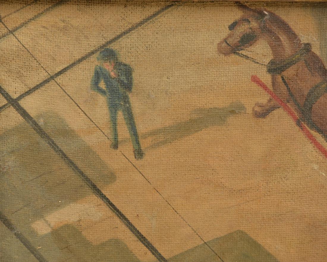 Oscar Ralph Weidhaas, Ashcan painting - 2