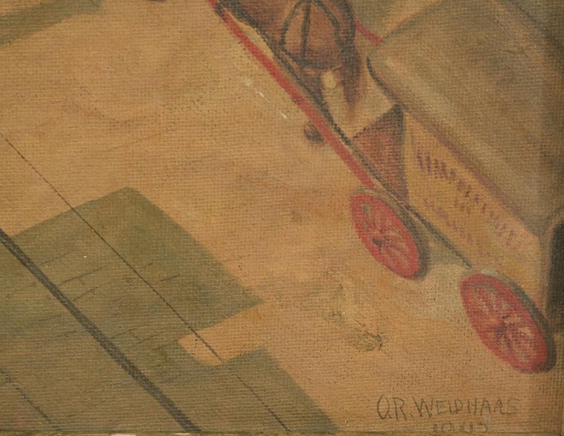 Oscar Ralph Weidhaas, Ashcan painting - 3