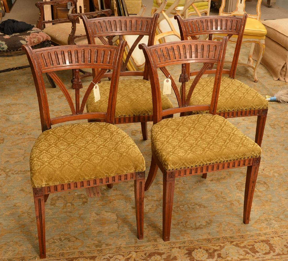 Set (4) Neo-Classical style side chairs - 2