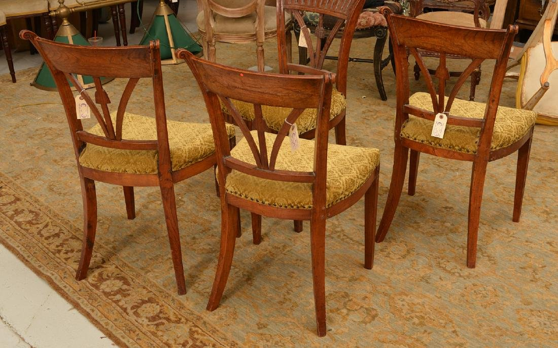 Set (4) Neo-Classical style side chairs - 5