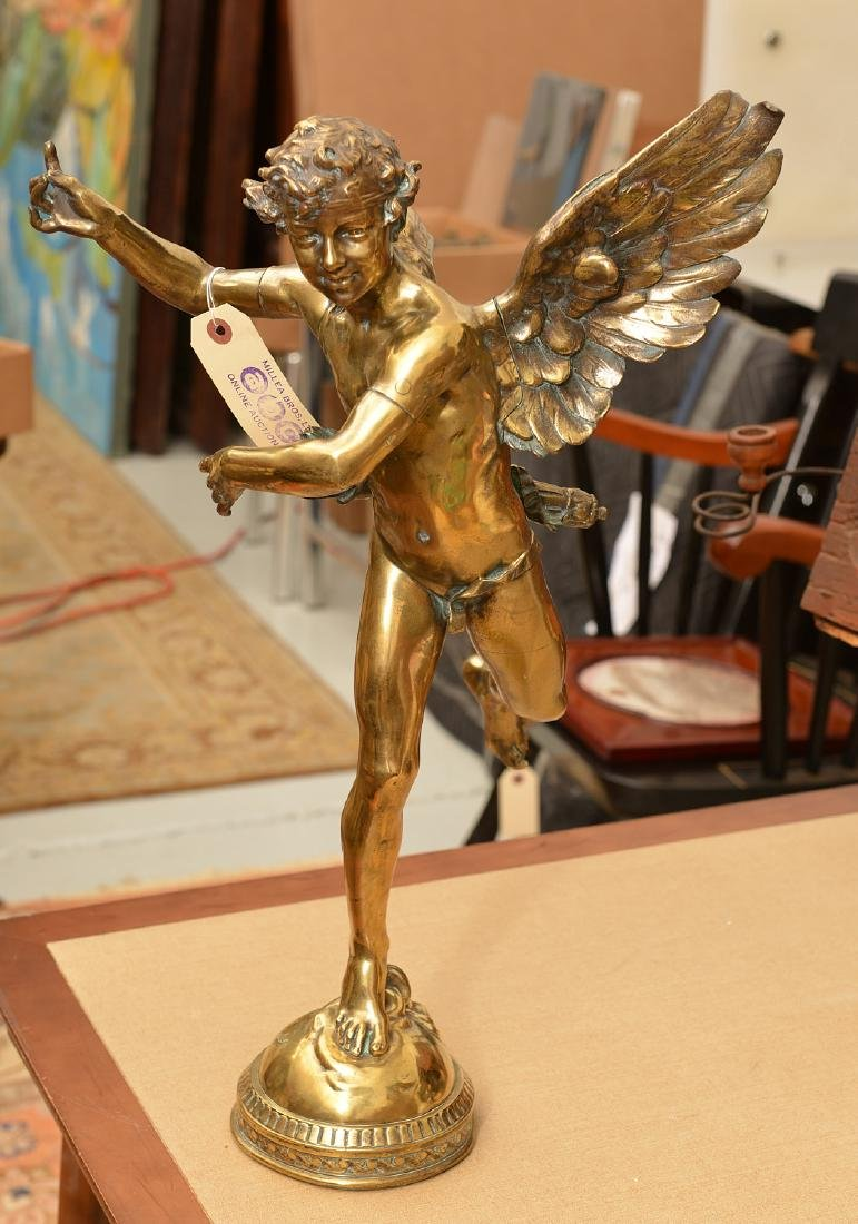 Adolphe Itasse, bronze sculpture
