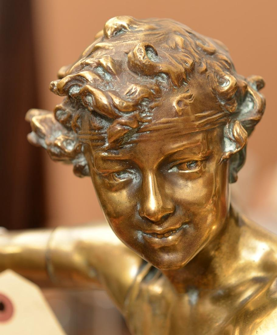 Adolphe Itasse, bronze sculpture - 2