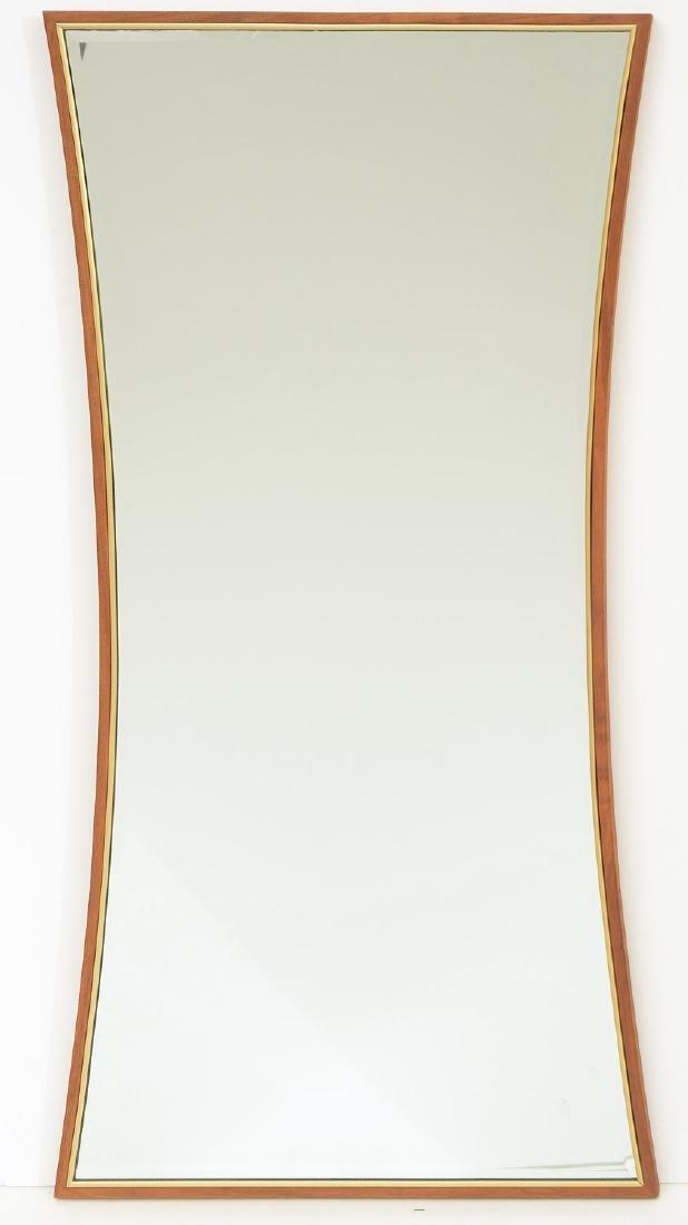 Paul McCobb (attrib.) butterfly shaped mirror