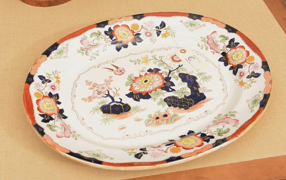 Ashworth Bros. Imari decorated ironestone platter