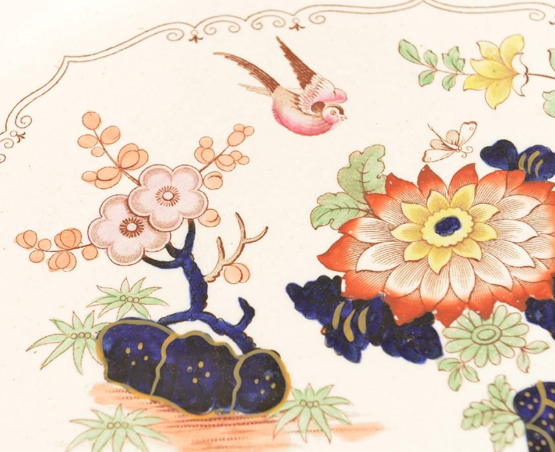 Ashworth Bros. Imari decorated ironestone platter - 2