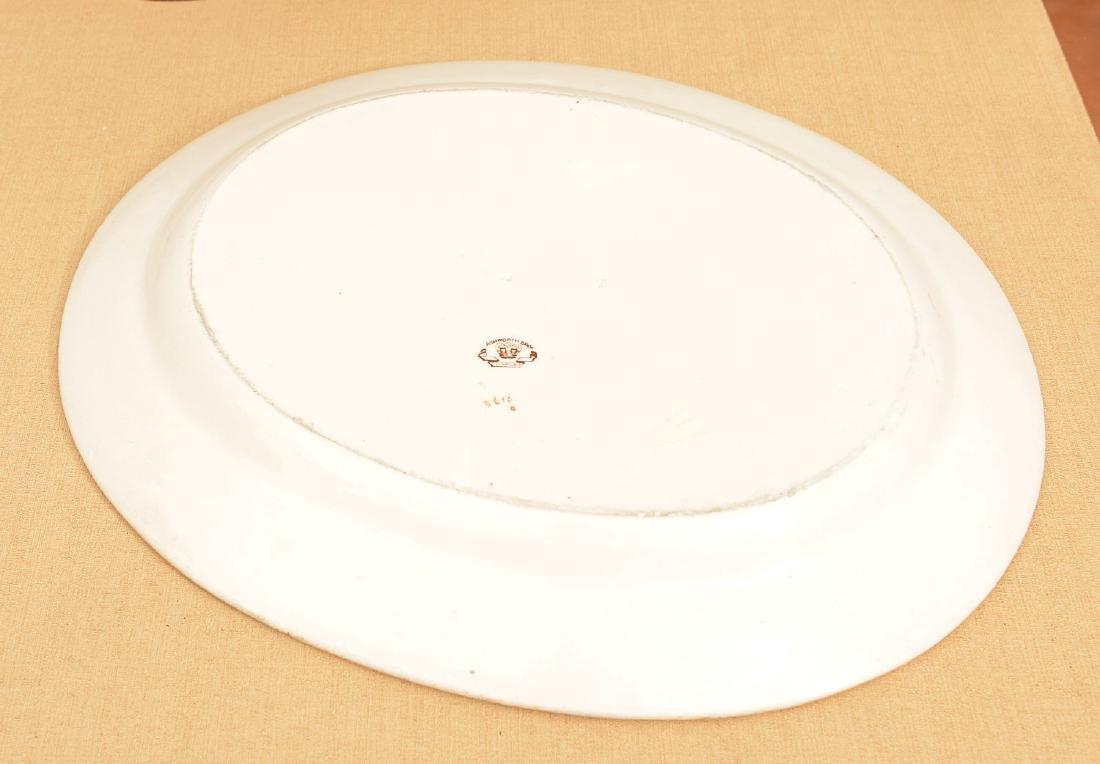 Ashworth Bros. Imari decorated ironestone platter - 4
