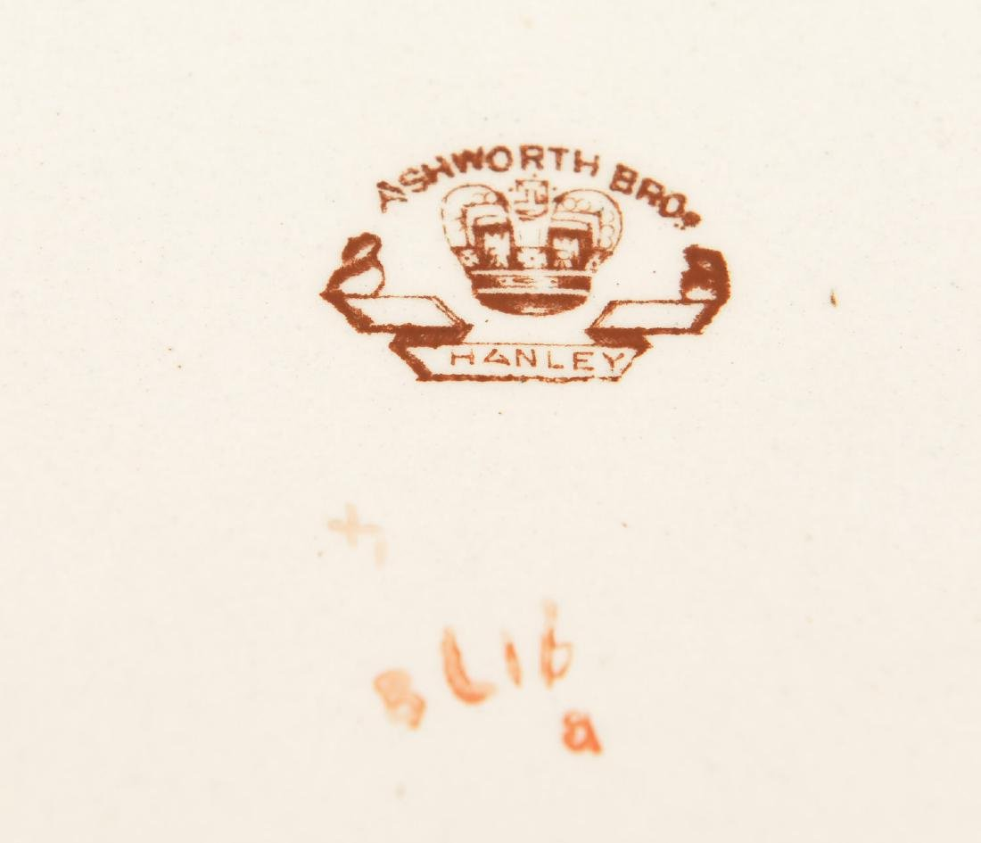 Ashworth Bros. Imari decorated ironestone platter - 5