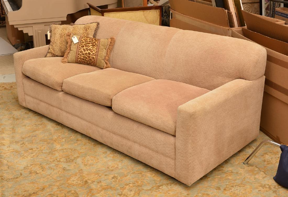 Avery Boardman herringbone upholstered sofa - 2