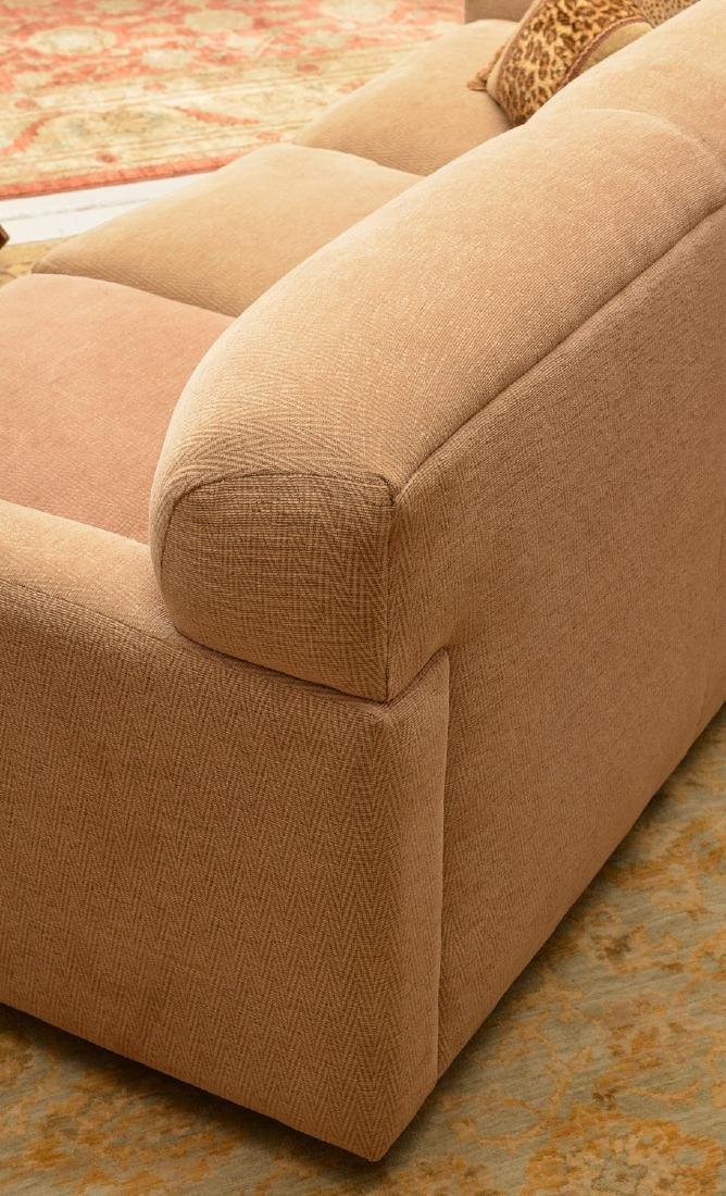 Avery Boardman herringbone upholstered sofa - 3