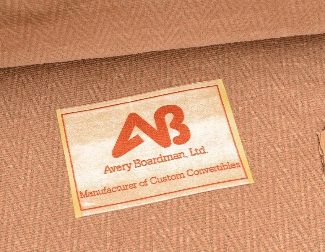 Avery Boardman herringbone upholstered sofa - 4