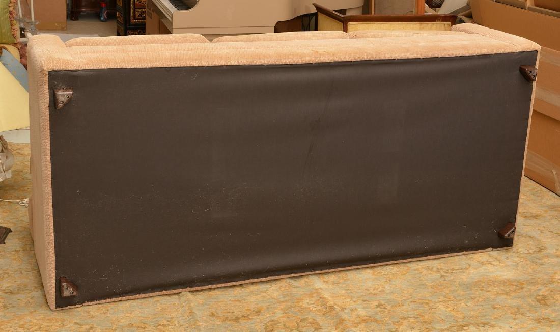 Avery Boardman herringbone upholstered sofa - 5
