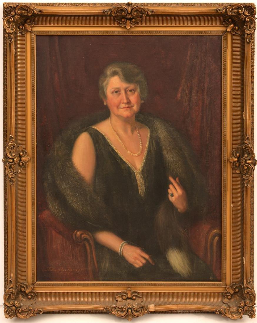 John Doctoroff, portrait painting