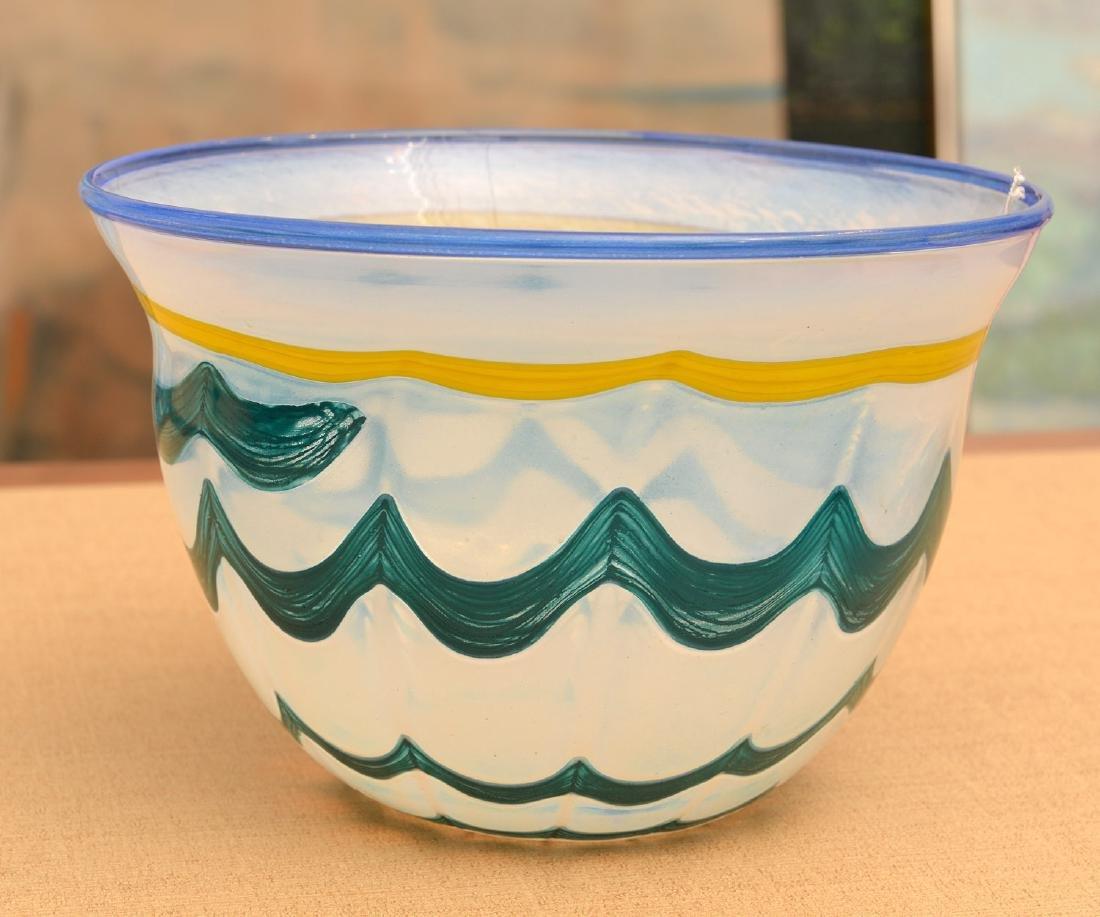 Ulrica Hydman-Vallien for Kosta studio glass vase - 2