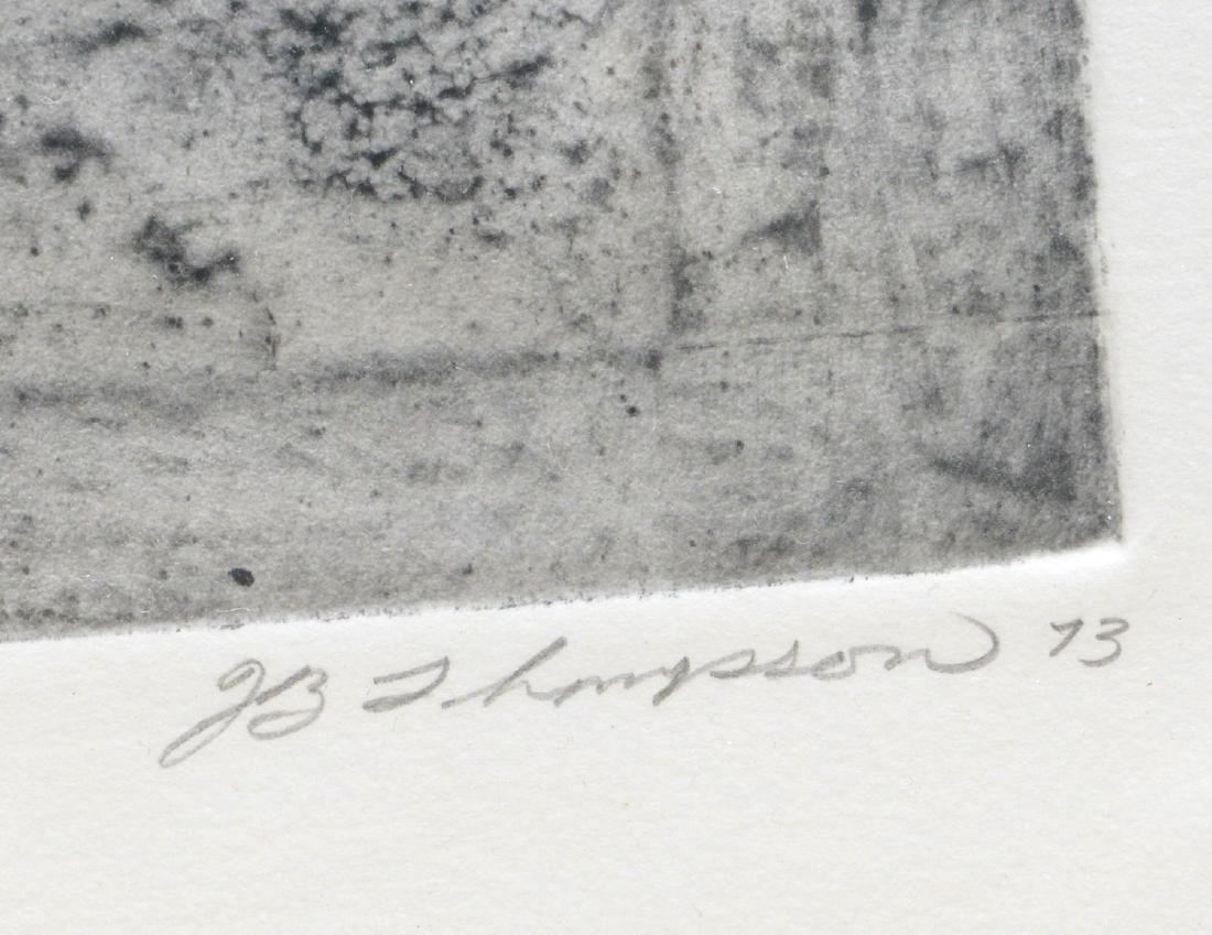 J.B. Thompson, pair lithographs - 8