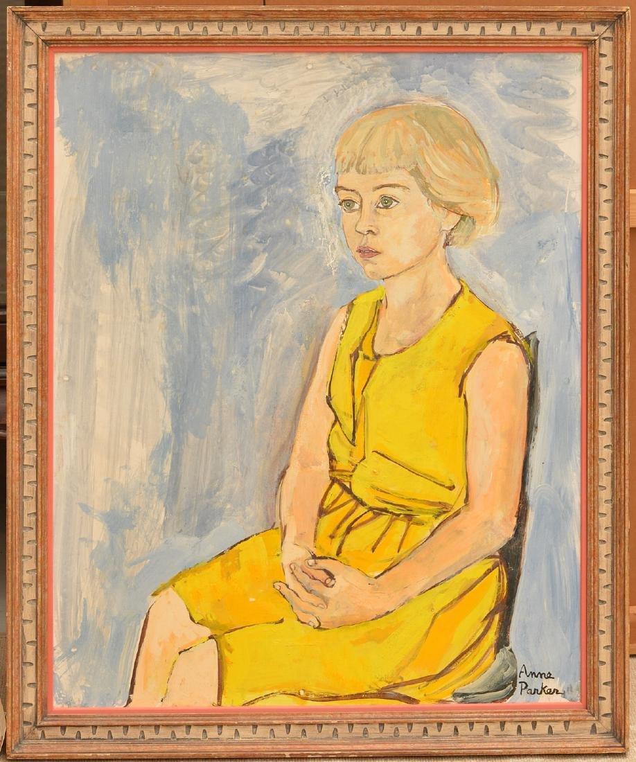 Anne Parker, portrait painting