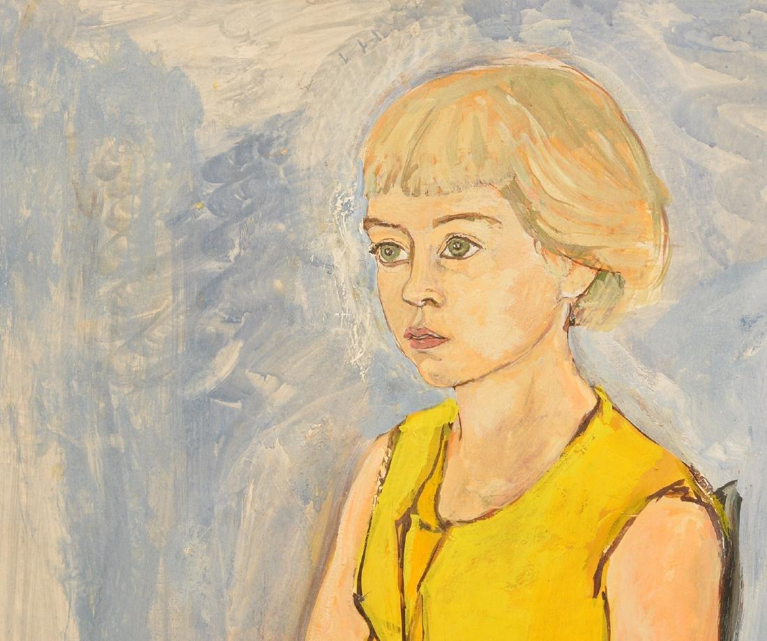 Anne Parker, portrait painting - 2
