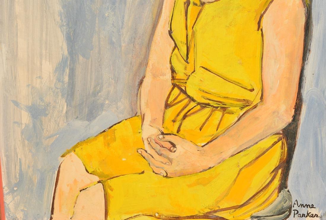 Anne Parker, portrait painting - 3