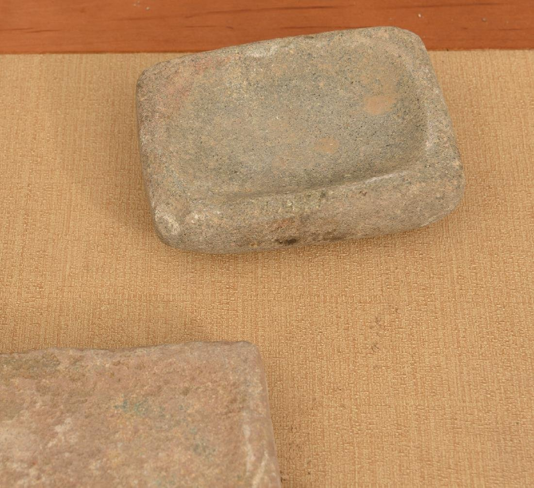 Collection (20) ancient stone tablets / metates - 4