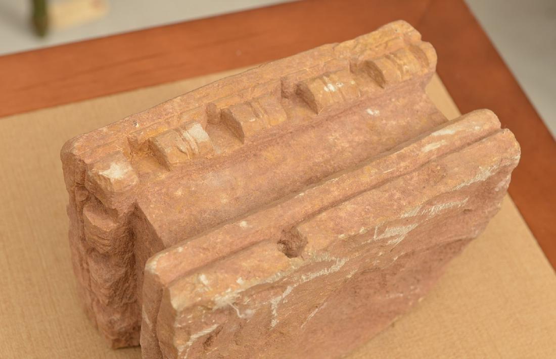 Group ancient stone mortar, pestle, metate & manos - 3