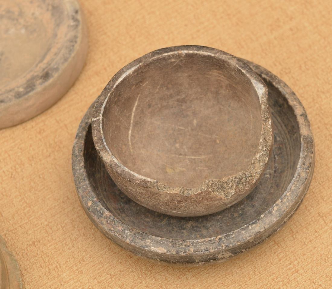 (10) ancient discoidals, nutting stones, & metates - 2