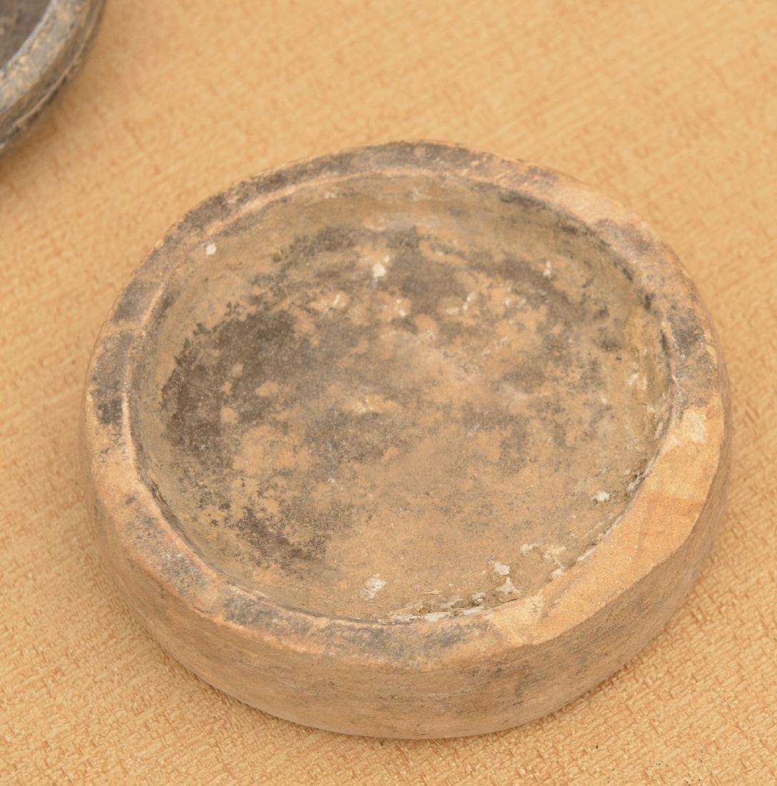(10) ancient discoidals, nutting stones, & metates - 3
