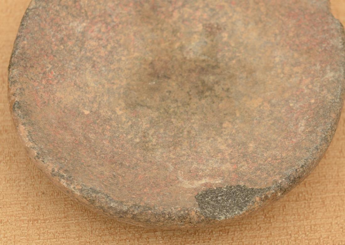 (10) ancient discoidals, nutting stones, & metates - 4