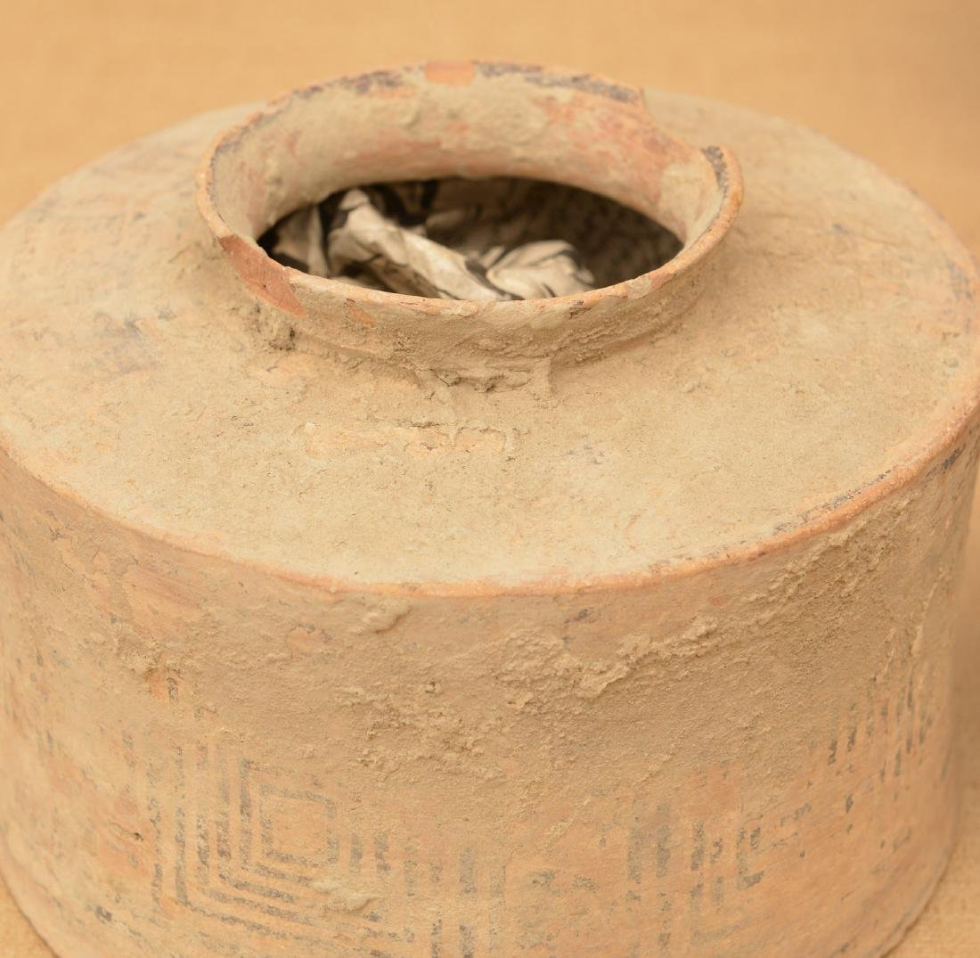 (9) ancient terra-cotta and pottery vessels - 4