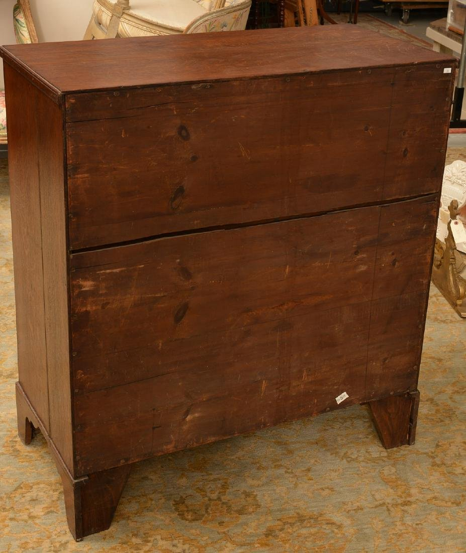 American Federal oak chest of drawers - 4