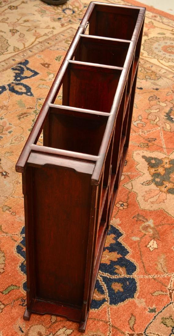 Chinese hardwood tabletop etagere - 4