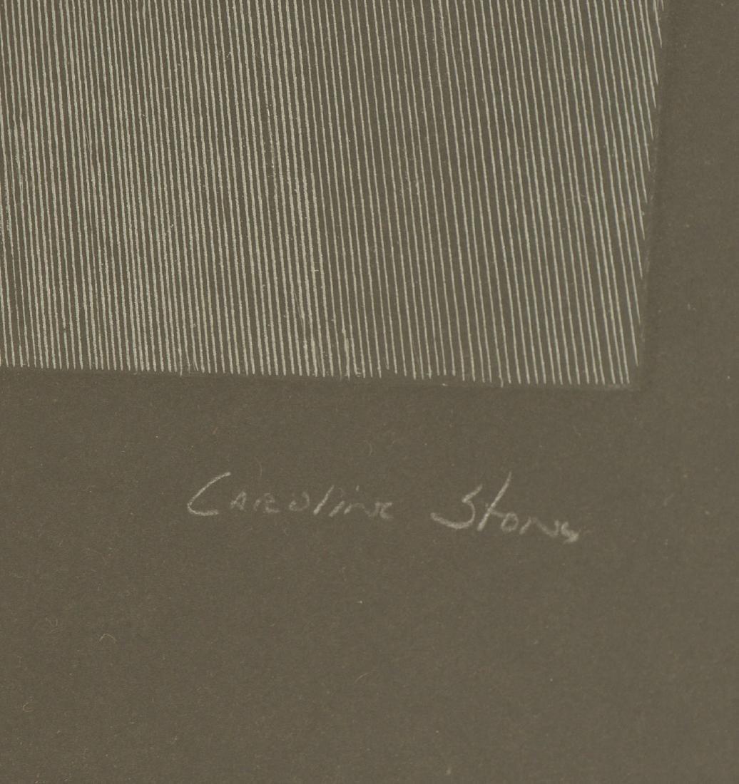 Caroline Stone, etching - 2