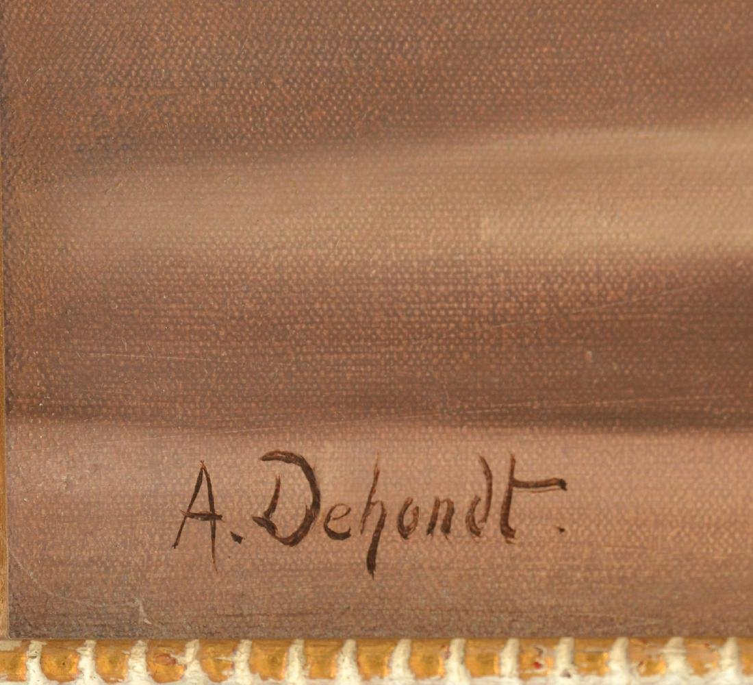 Armand Dehondt, painting - 4