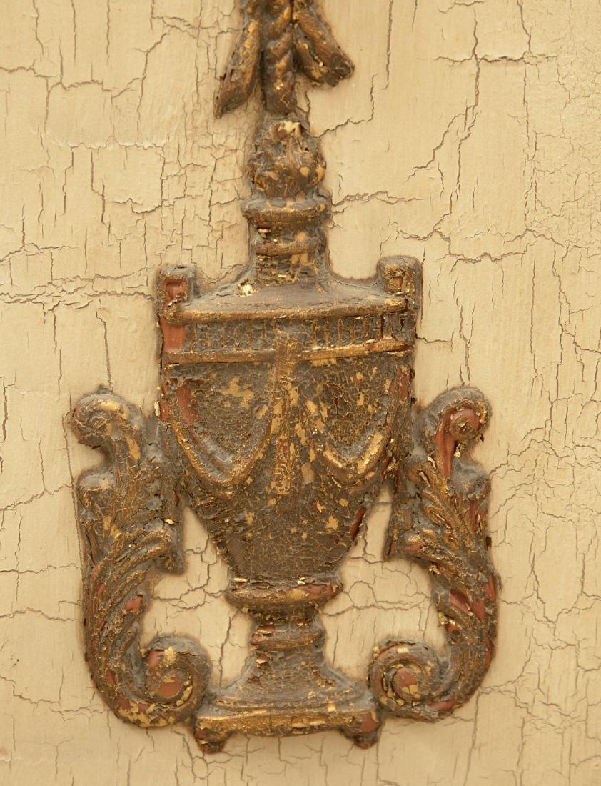 Pair John-Richard parcel gilt wall appliques - 5