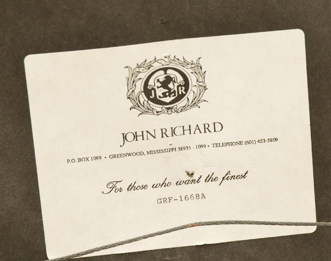 Pair John-Richard parcel gilt wall appliques - 7