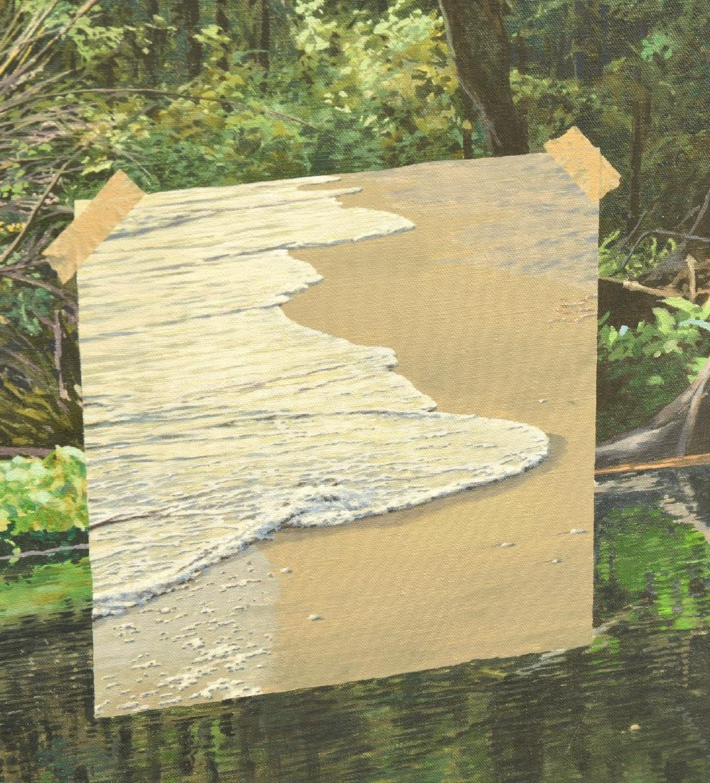 Attrib. to Richard Crozier, large painting - 3