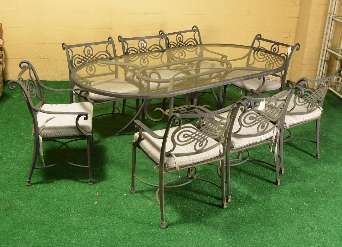 Restoration Hardware style patio dining set