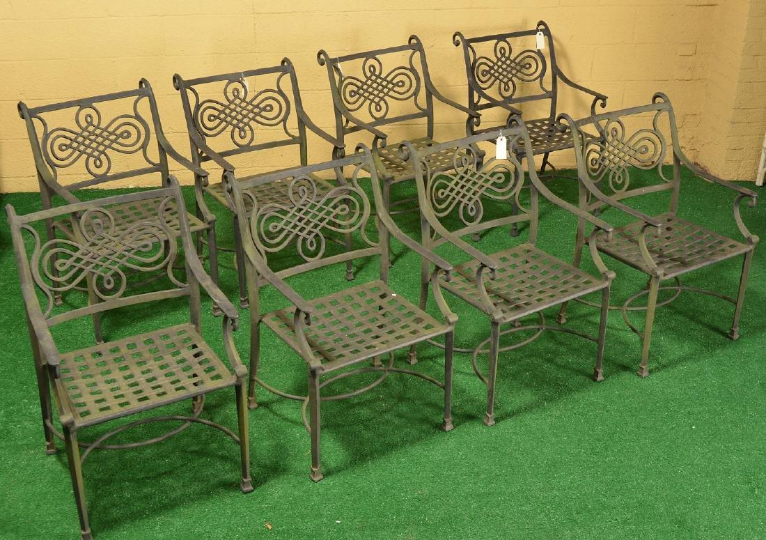 Restoration Hardware style patio dining set - 2