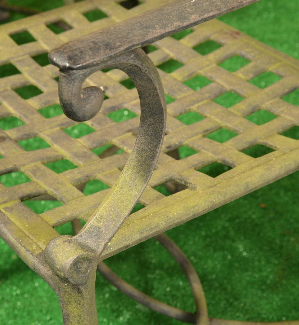 Restoration Hardware style patio dining set - 5