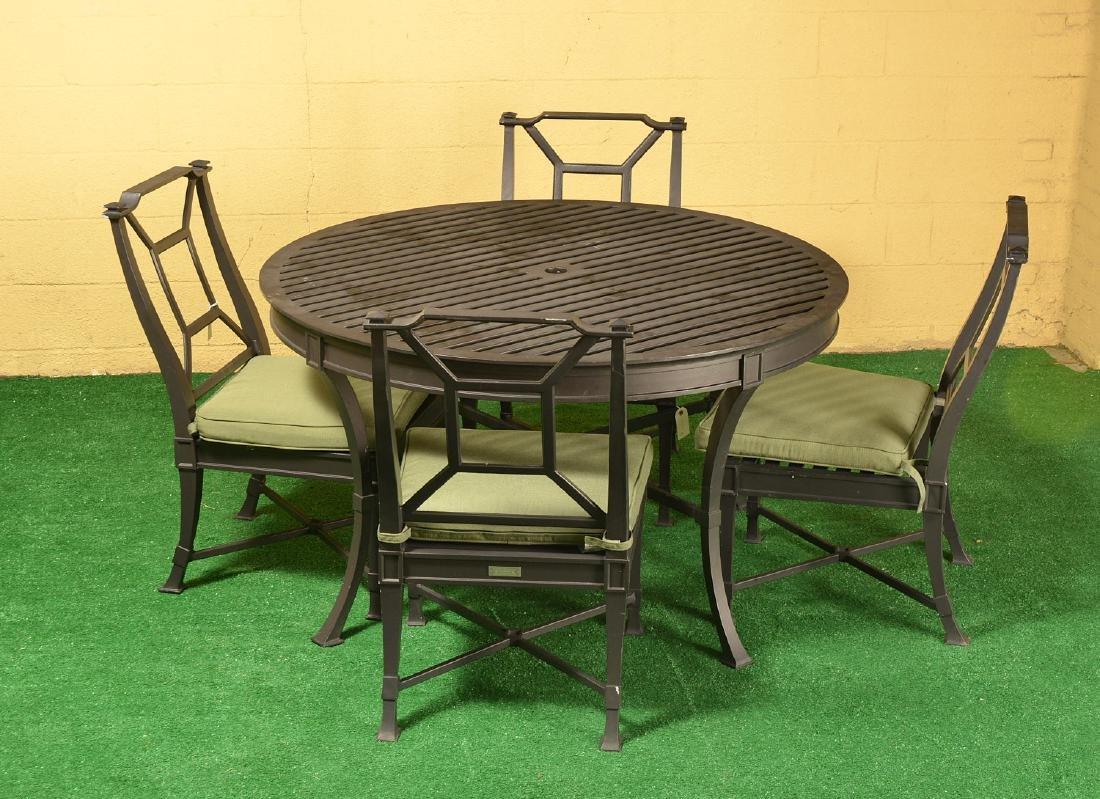 Restoration Hardware Antibes outdoor dining set