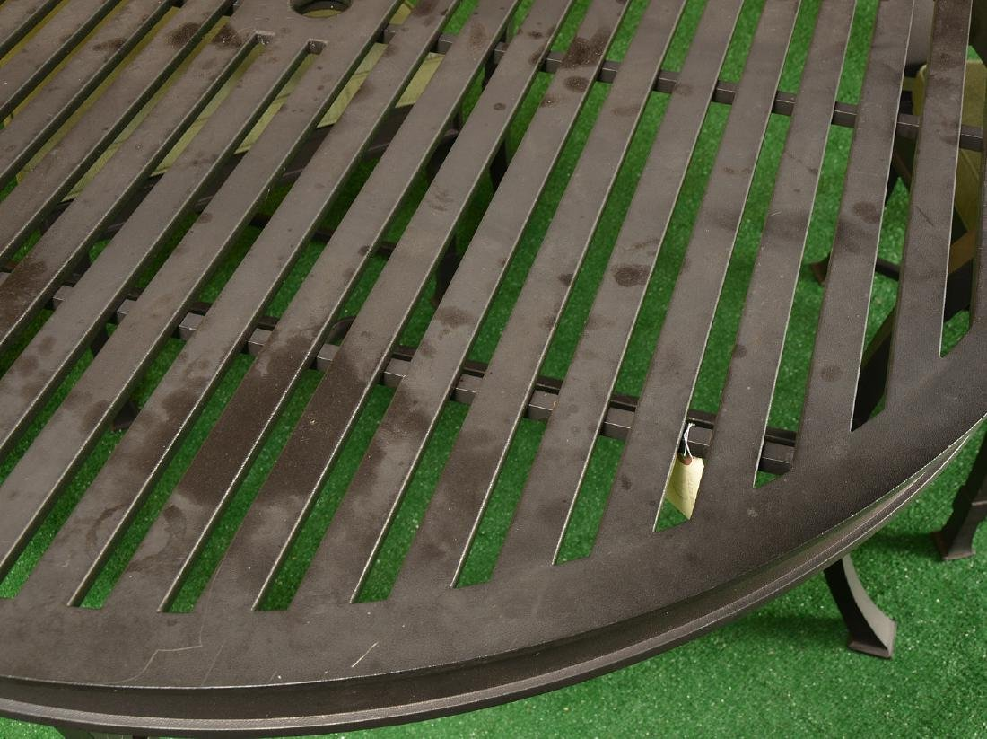 Restoration Hardware Antibes outdoor dining set - 4
