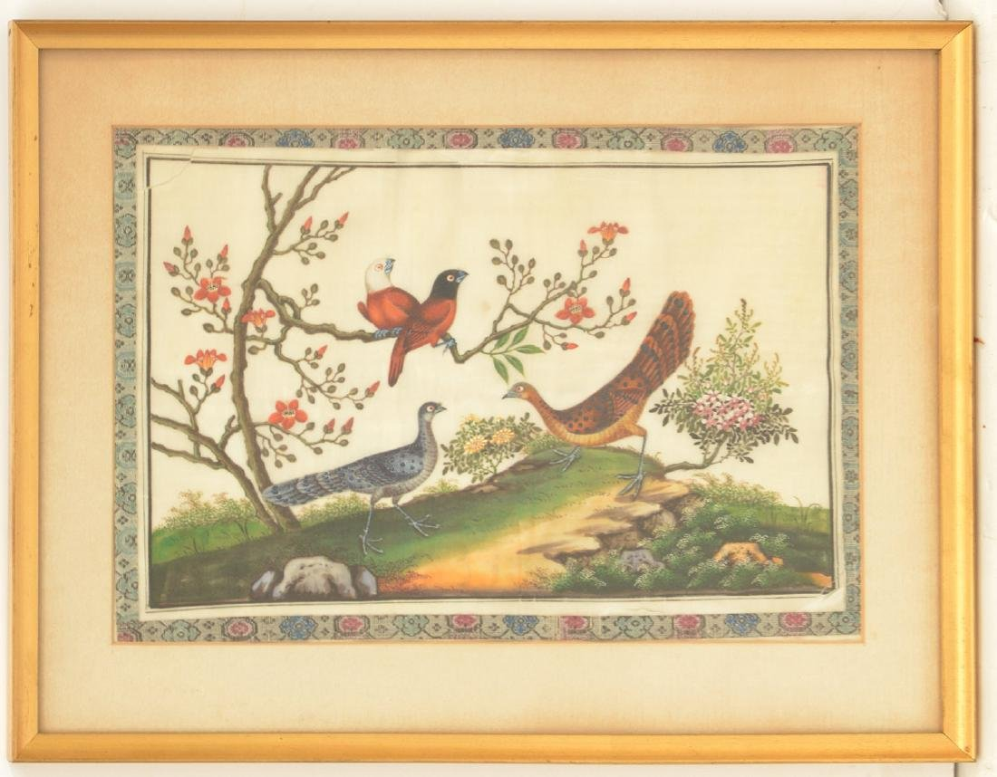 Chinese School, pith painting