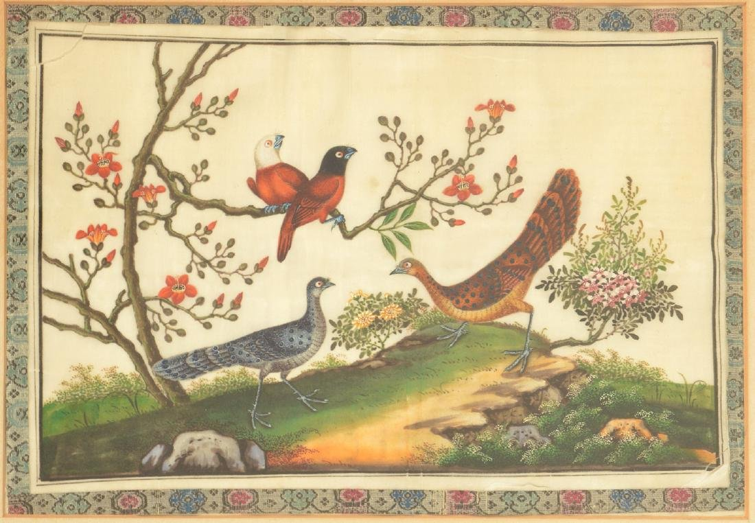 Chinese School, pith painting - 2