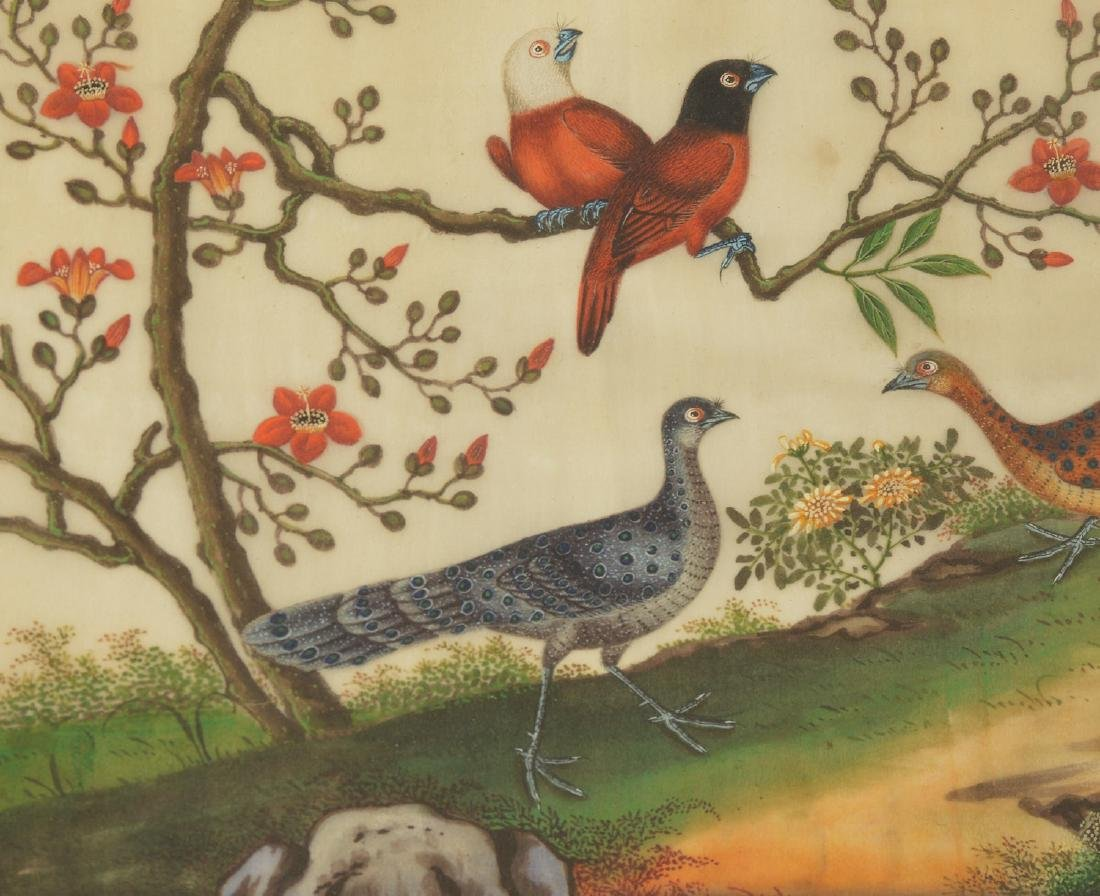 Chinese School, pith painting - 3
